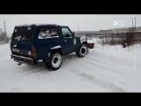 Рыбинск - 40 УБОРКА ДОРОГ СВОИМИ СИЛАМИ (480p)