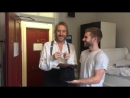 Rhys Ifans chooses the Tiny Tim for the first performance of A Christmas Carol