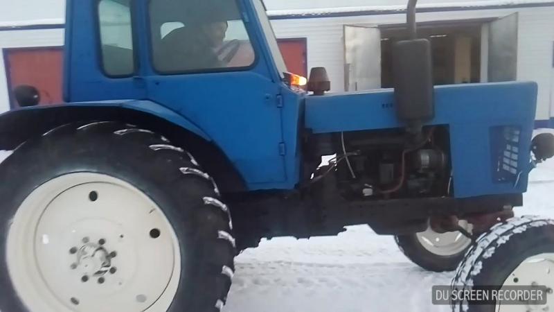 МТЗ-80 после ремонта и покраски