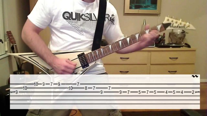 The Unforgiven (Solo Lesson Cover) W/ TAB