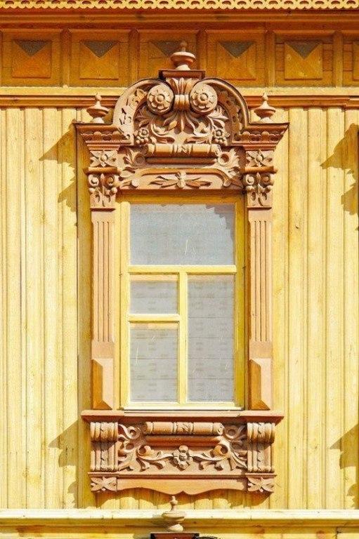 Красивое русское деревянное зодчество
