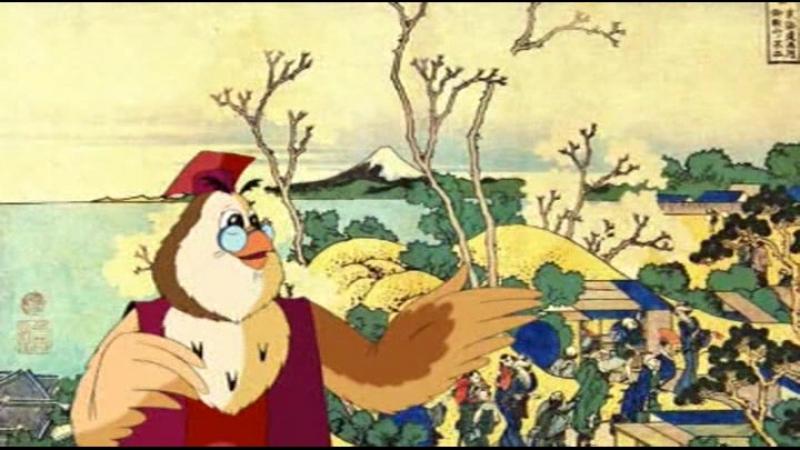 1. Кацусига Хокусай - Сказка о горе Фудзи Яма