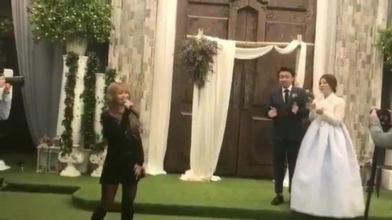 [FANCAM] 171015 Hyolyn - I Choose to love you @ Wedding in her church