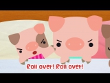 10 Pigs In The Bed _ Ten in the Bed _ Roll Over _ Nursery Rhyme _ Baby Songs _ The Kiboomers