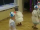 Когда на утреннике в детском саду все дети, как дети, а твой – Весёлый снеговик.