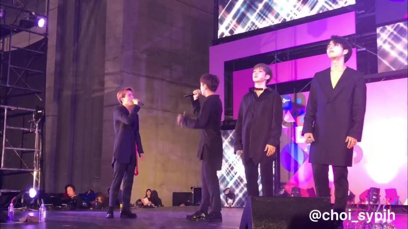 FANCAM | 15.04.18 | A.C.E - Love in the ice @ KCON JAPAN 2018