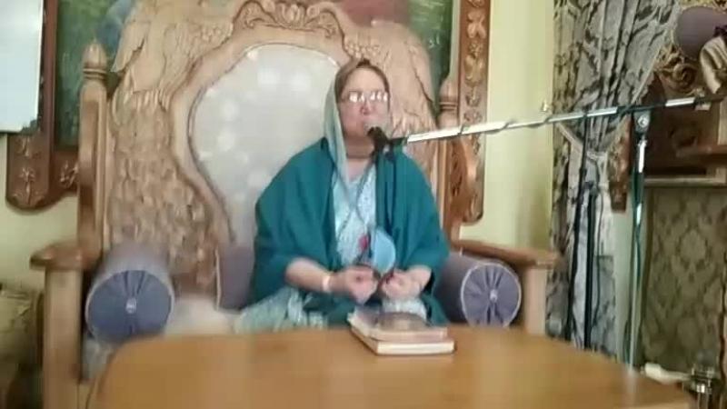 джапа ретрит. лекция. Матаджи Кришна Прия