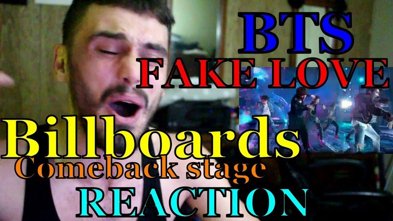 BTS FAKE LOVE BBMA TOP SOCIAL ARTIST REACTION (ARMYS ARE NUTS LOL)