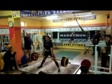Возращение Петельки Богдана тяга 315 кг