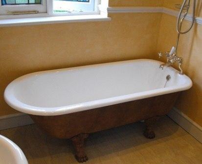 Установка чугунной ванны - картинка 1