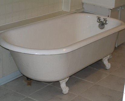 Установка чугунной ванны - картинка 3