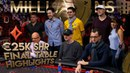 HighLights Final Table €25K SHR Day2 MILLIONS Barcelona Event 2