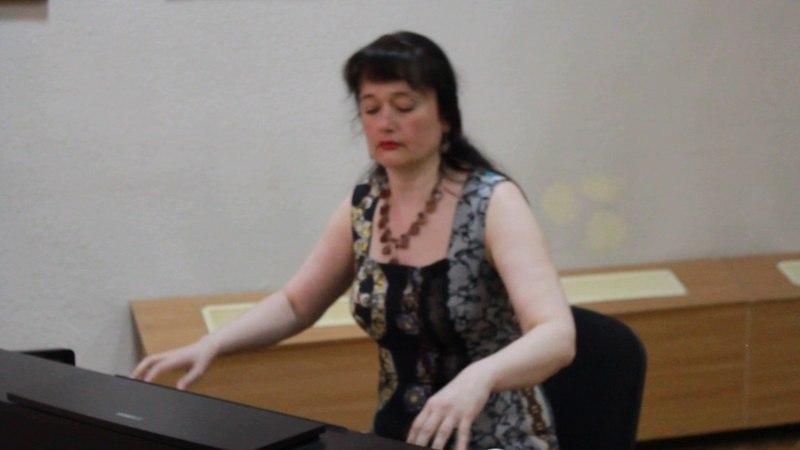 Инна Силенок Фортепианная импровизация Глубина переживаний