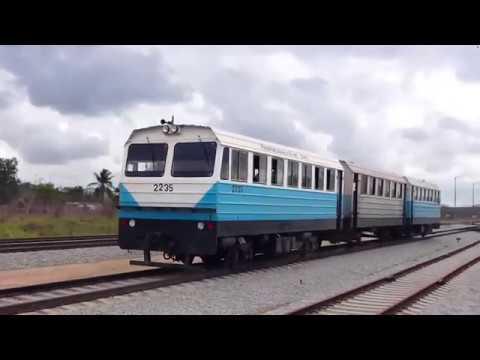 Union Ferrocarriles de Cuba. Coche-motor Triple.