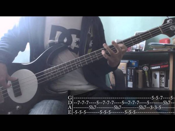Maximum The Hormone - Bikini Sports Punchin [Bass Cover Tab]