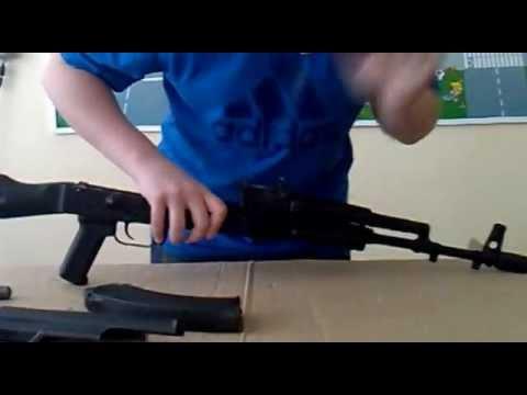 Полная разборка и сборка AK-74