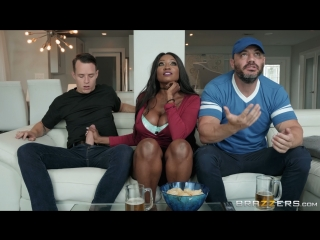 Diamond Jackson (Eye on the Infield)[2018, Big Tits Worship,Black Hair,Bubble Butt,Ebony,MILF,Sneaky,Stepmom,Wife, 1080p]