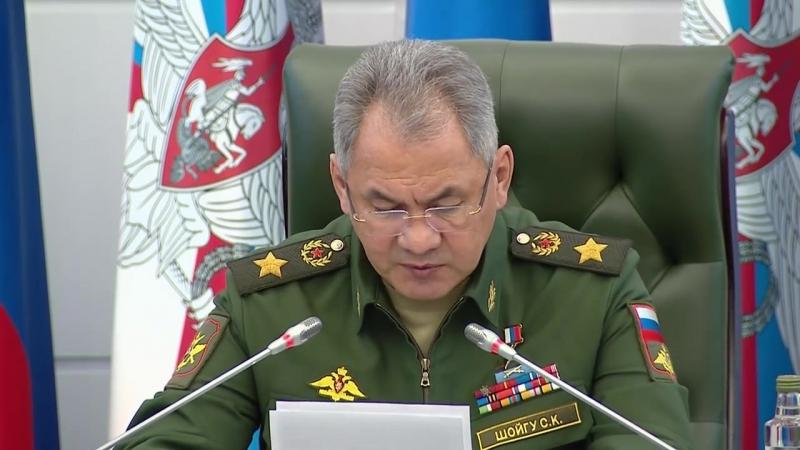 Заседание Коллегии МО РФ и формирование 127-й мотострелковой дивизии
