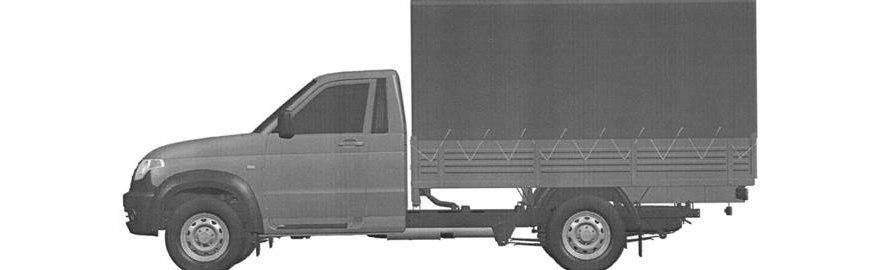 УАЗ запатентовал еще несколько версий грузовика Профи