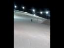 первое катание на сноуборде)