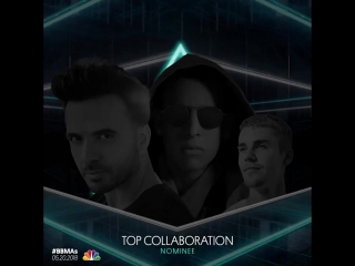 Top Collaboration Nominees - _ @Camila_Cabello @youngthug [Havana] - _ @TheChainsmokers @coldplay [Something Just Like This]