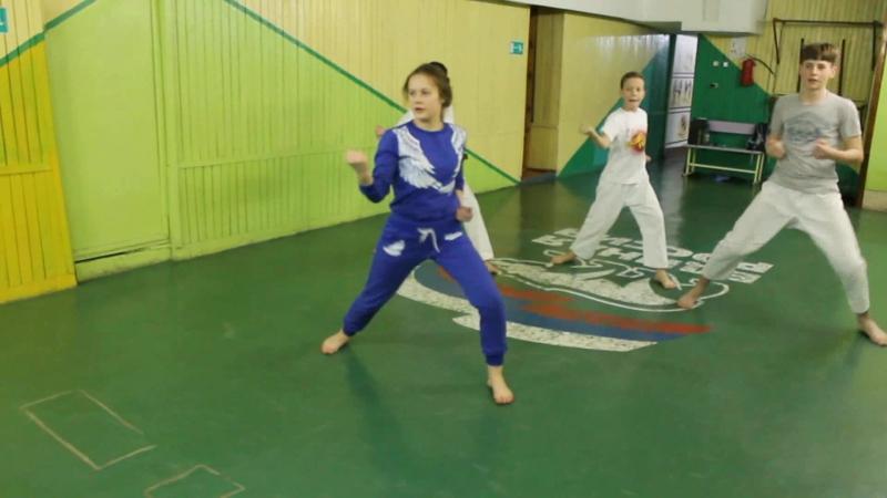 Ушакова Дарья Николаевна, первый дан, тренер по Сётокан каратэ-до, клуб Скиф-С
