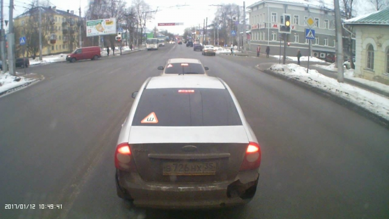 козлы на дороге