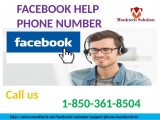 Instant Query for Facebook Dial 1-850-361-8504 Facebook Help Phone Number