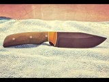 Making a Clip Point Hunting and Camping Knife