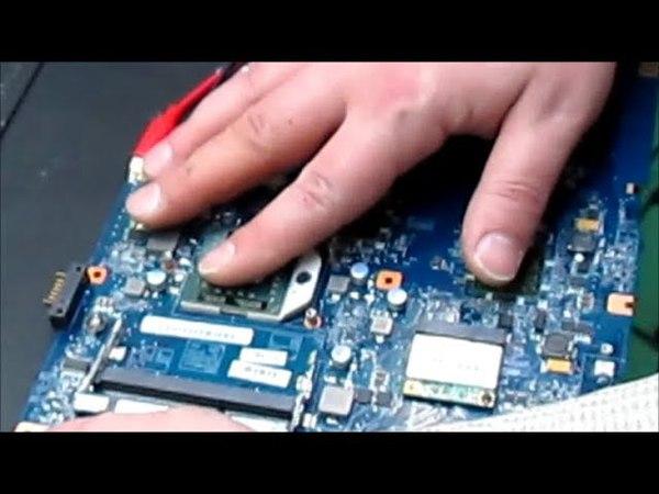 Ремонт ноутбука Sony PGC-61611V от зрителя Часть 1