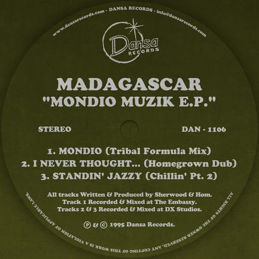 Madagascar альбом Mondio Muzik EP