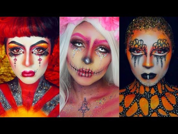 Special Effects Makeup Transformations 1 | Easy Halloween Makeup Compilation 2017