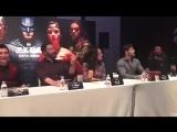 26 октября 2017 - Генри на пресс конференции фильма
