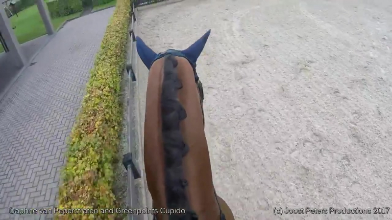 Daphne van Peperstraten and Greenpoints Cupido Gold Medal winning freestyle Yes We Can, seen through the eyes of Daphne