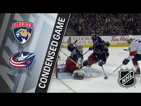 Florida Panthers vs Columbus Blue Jackets – Mar. 22, 2018 | Game Highlights | NHL 2017/18. Обзор