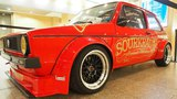 Volkswagen Golf 1 GTi Typ17 Tuning by Sourkrauts 16V KR 2.0 178 PS, KW, BBS R16, Gruppe-2 Bodykit