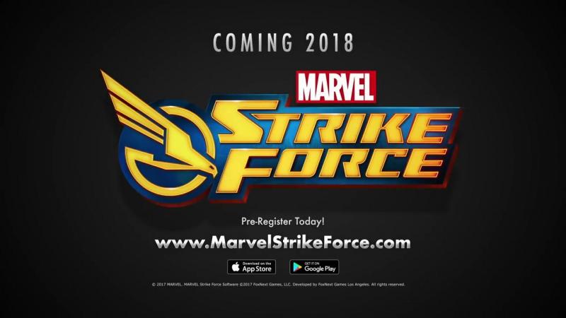 Тизер-трейлер новой мобильной игры от Марвел - Marvel Strike Force!