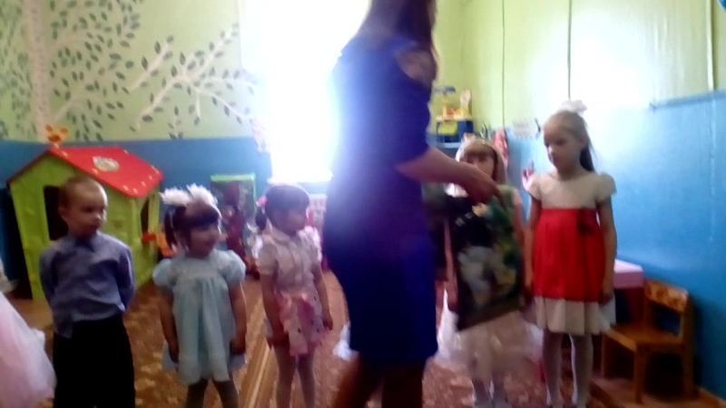 выпускной с дет сада 2017год
