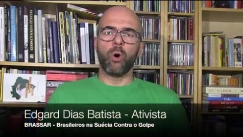 Brasileiros reunem com suecos e latinos em evento cultural pela Liberdade de Lula e contra a Ditadura da Toga. Confira o vídeo.
