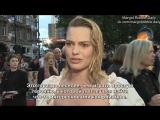 Интервью для «ODE» на премьере фильма «Прощай, Кристофер Робин» в Лондоне | 20.09.2017 (Русские субтитры)
