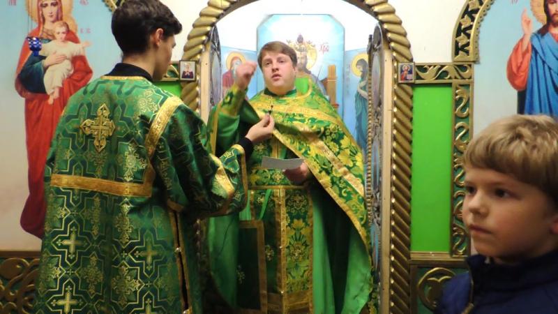 Проповедь настоятеля храма иерея Виталия Свиридова в день памяти прп. Сергия Радонежского