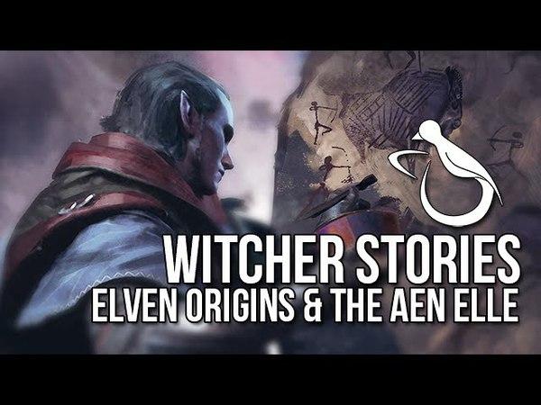 Witcher Stories - Elven Origins The Aen Elle (Elves 1/4)