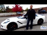 2014 Chevrolet Corvette Stingray 3LT Z51 package видео. Тест драйв Шевролет Корвет Стингрей 2014