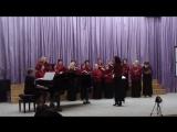 Женский академический хор Глория - Ой, цветёт калина, русская народная песня (28.04.2018)