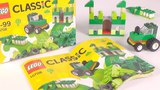 LEGO Classic Green Creativity Box (10708) - Toy Unboxing and Speed Build