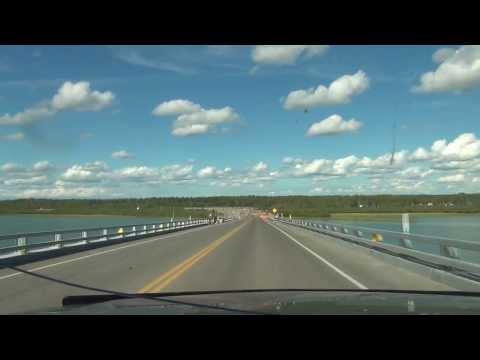 The only bridge crossing Canadas Mackenzie River