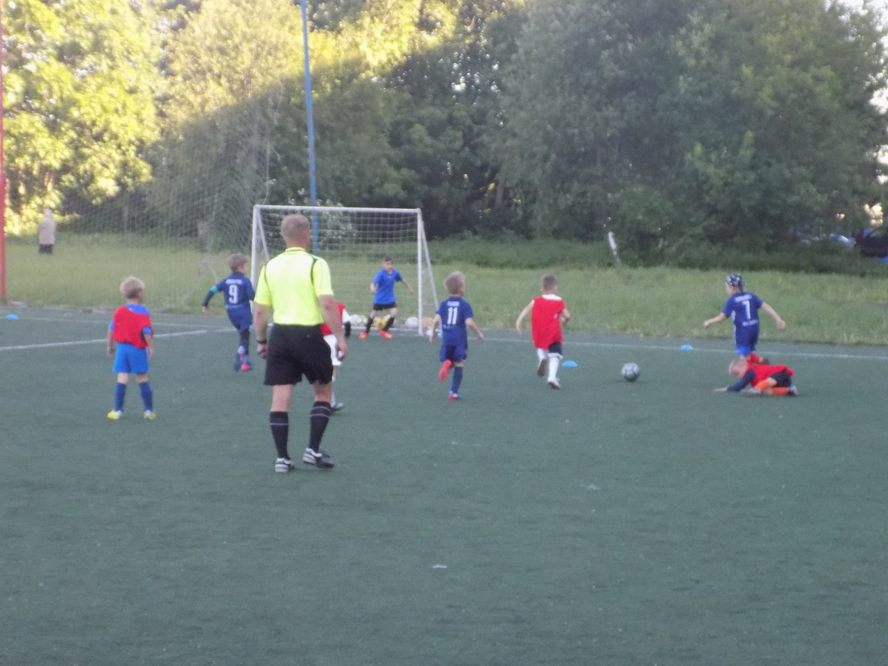 Результаты игр Первенства Городского округа Подольск по футболу среди детских команд 2011 г.р.