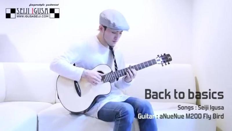 Back to basics [Seiji Igusa] Solo Fingerstyle Guitar