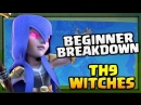 Beginner Breakdown of TH9 Witch Expert Attacks | Clash of Clans Strategy Explained [2018]