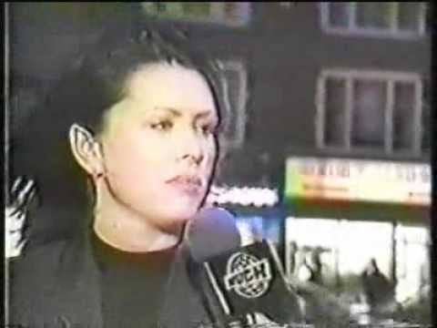 Curve - Toni Halliday interview at much music canada 1998